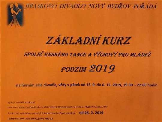 srdečně Vás zveme na podzimní kurzy společenského tance a výchovy pro  mládež b810d39d6d